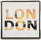 アートデリ ポスター パネル ロンドン 15cm × 15cm 日本製 軽量 ファブリック popa-1712-07-01-S