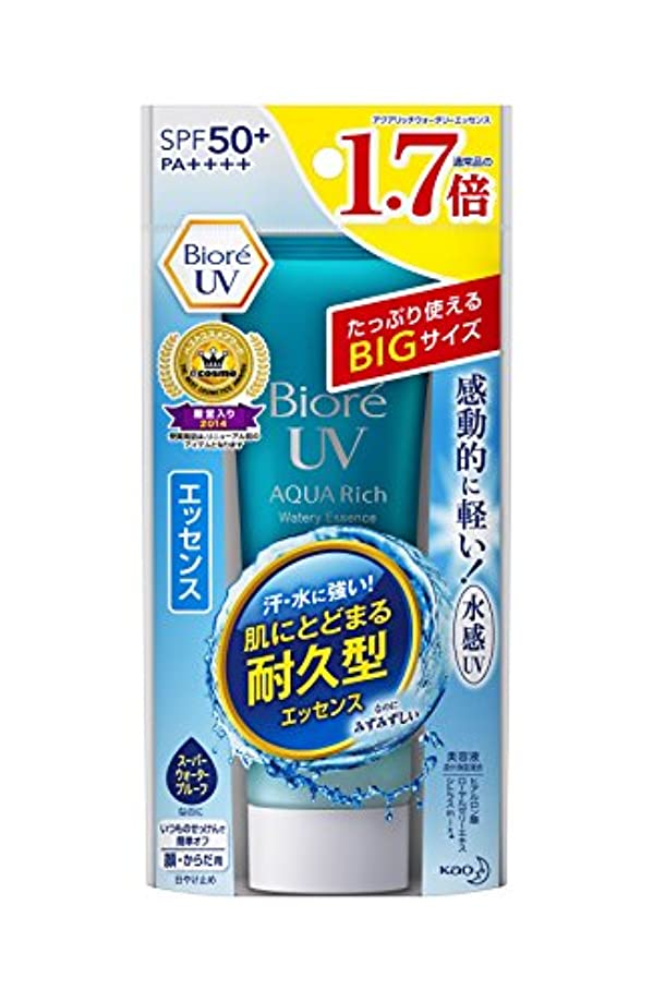 病気だと思う精緻化炭水化物【大容量】ビオレUV アクアリッチウォータリエッセンス 85g (通常品の1.7倍) SPF50+/PA++++
