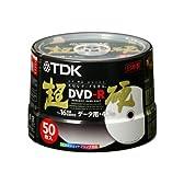 TDK データ用DVD-R 超硬 16倍速 ホワイトワイドプリンタブル 50枚パック DR47HCPW50PT