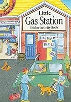 Little Gas Station Sticker Activity Book (Dover Little Activity Books)