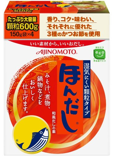 ほんだし 箱(600g)