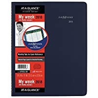 at a glance academic weekly monthly planner appointment book july