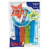 トンボ鉛筆 ippo! つなげるキャップ PC-SJM ブルー