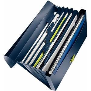 LEITZ ライツ ファイルケース リサイクル プロジェクトファイル A4 ダークブルー 4624-00-69