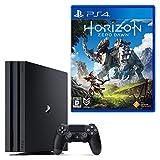 【4/2限定 参考価格から2,802円OFF】PlayStation 4 Pro ジェット・ブラック 1TB + Horizon Zero Dawn