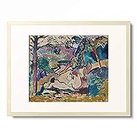 アンリ・マティス Henri Matisse 「Pastorale. 1905.」 額装アート作品