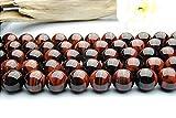 【 福縁閣 】レッドタイガーアイ 12mm 1連(約38cm)_R225/A12-1 天然石 パワーストーン ビーズ