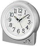 PYXIS (ピクシス) 目覚し時計 クオーツ 大音量 ベル音 音量切替 NQ704S
