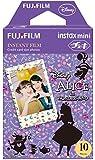 FUJIFILM インスタントカメラ チェキ用フィルム 10枚入 絵柄 (ふしぎの国のアリス) INSTAX MINI ALICE WW 1