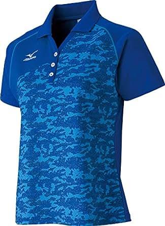 (ミズノ) MIZUNO 卓球 ウィメンズ ゲームシャツ 82JA4700 14 ネイビー L