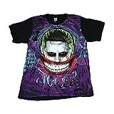 ジョーカー スーサイドスクワット 映画 パロディ ストリート系 デザインTシャツ おもしろTシャツ メンズTシャツ 半袖 (XL) [並行輸入品]