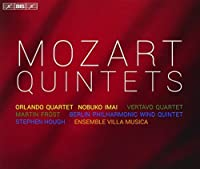 Mozart: The Quintets by Orlando Quartet