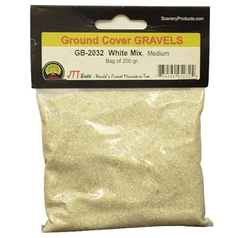 JTT Scenery Products Ballast and Gravel, White Mix, Medium/200gm
