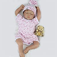 Sleeping Baby Girl Doll 20