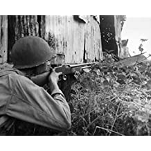 World War Ii Philippines NuS Army Soldier of The 2Nd Battalion 503Rd Parachute Infantry with A Browning Automatic Rifle During Combat at San Jose Mindoro Philippines 13 December 1944 Poster Print by
