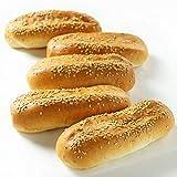 ミートガイ 冷凍ホットドッグ用バンズ (ゴマ付き) (5本) Frozen Hot Dog Buns