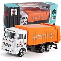 inverleeエンジニアリングおもちゃ?マイニング車トラック子供の誕生日ギフトGarbage Truckモデル マルチカラー IN