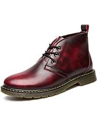 本革 メンズ ブーツ カジュアルスタイル 魅力的 ファッション ハイカット マーチン 革靴 エンジニア ブーツ 通気性 防水性