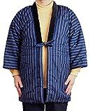 男性用 半纏 久留米 はんてん どてら 日本製 布和里(ふわり)