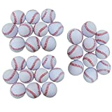 (モデルノ ラ テール) Moderno La Terre 野球 練習 ウレタン ボール 7cm 10個 20個 30個 セット SN-WBB (白 30個 セット)