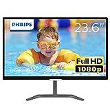 Philips 23.6型ワイド液晶ディスプレイ (PLSパネル/フルHD/HDMI1.4/DVI-D/D-Sub15/5年間フル保証) 246E7QDSB/11