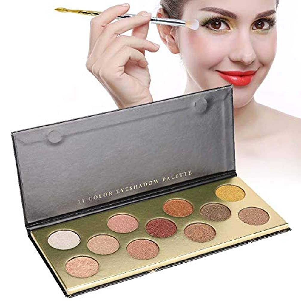 アイシャドウパレット 化粧マット 11色 アイシャドウパレット グロス アイシャドウパウダー 化粧品ツール