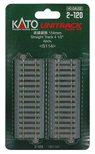 HOユニトラック線路 直線線路 114mm (4本入) #2-120