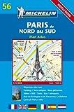 Michelin Paris Du Nord Au Sud: Plan Atlas (MICHELIN MAPS: PARIS ATLAS (MAP NO 11)) 画像