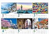 世界一美しい街を散歩する 2020年 カレンダー 壁掛け SD-1 (使用サイズ594x420mm) 風景 画像