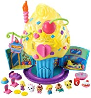 Adorable Squinkies Cupcake Surprize Bake Shop Playset for Kids Girls Ages 4+