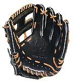 HI-GOLD(ハイゴールド) 軟式グラブ 己極シリーズ 二塁手・遊撃手用 LH 右投げ OKG-6816 ブラック C-3