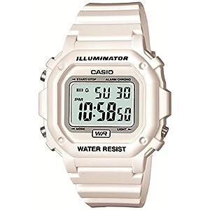[カシオ]CASIO 腕時計 スタンダード デジタル表示 ホワイト×ホワイト F-108WHC-7BJF メンズ