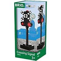 BRIO WORLD ライト付き踏切シグナル 33862