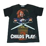 (GibGae) 映画 Tシャツ チャッキー チャイルドプレイ CHILD'S PLAY メンズ [並行輸入品]
