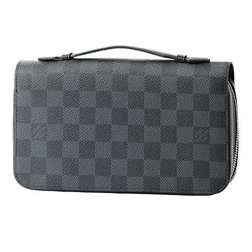 ルイヴィトン(Louis Vuitton) ダミエ グラフィット DAMIER GRAPHITE N41503 長財布(ラウンドファスナー) ブラック 黒 /グレー[並行輸入品]