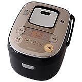アイリスオーヤマ IHジャー炊飯器(5.5合炊き) ブラック/シャンパンゴールドIRIS OHYAMA 銘柄炊きIHジャー炊飯器 KRC-IB50-B