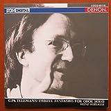 テレマン / 無伴奏オーボエのための12の幻想曲