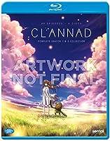 CLANNAD 第1期 +第2期 AFTER STORY BD 第1期 全22話+番外編1話+DVD特典1話 + 第2期 本編22話+OVA3話 1225分収録 北米版