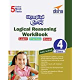 Olympiad Champs logical reasoning class-4 with 5 mock Online Olympiad tests (English Edition)