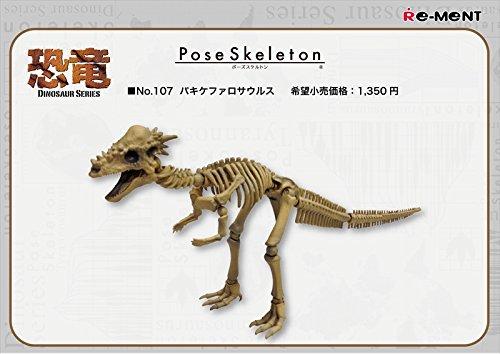 ポーズスケルトン 恐竜シリーズ107 パキケファロサウルス