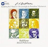 ベートーヴェン:交響曲第3番「英雄」、「プロメテウスの創造物」序曲 他