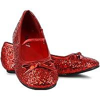 Sparkle Ballerina (Red) Child Shoes スパークルバレリーナ(赤)子供靴?ハロウィン?サイズ:X-Small (9/10)