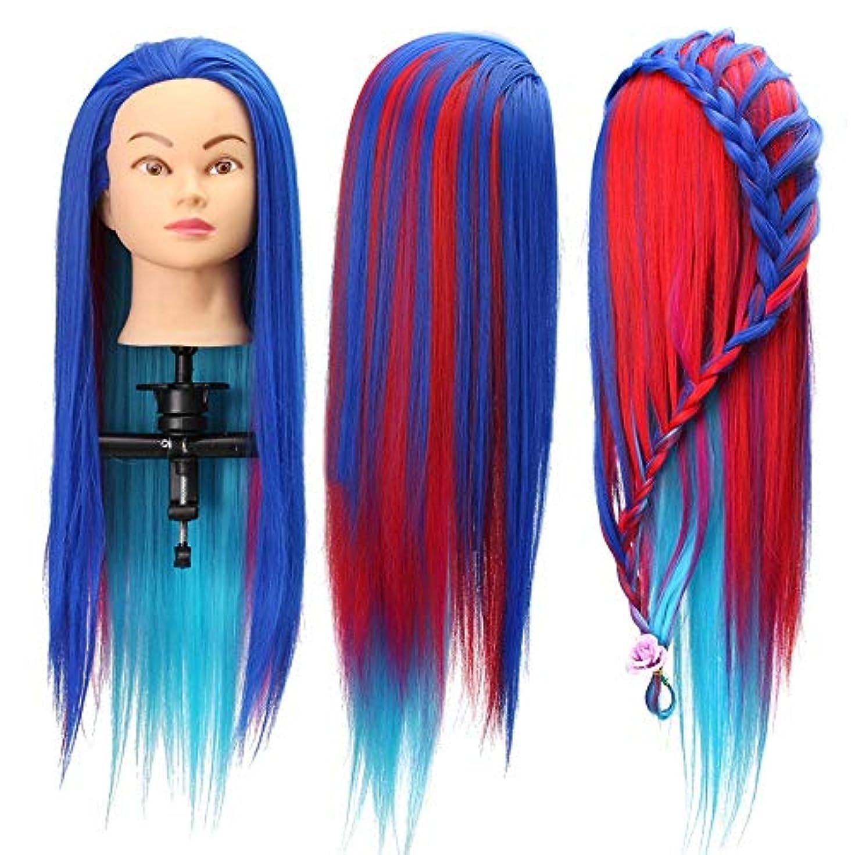 集中的な無意識補足マネキンヘッド 8色のサロン理髪編み練習マネキンの髪トレーニング頭部モデル 練習用 グマネキンヘッド (色 : C3, サイズ : App 60~65cm)