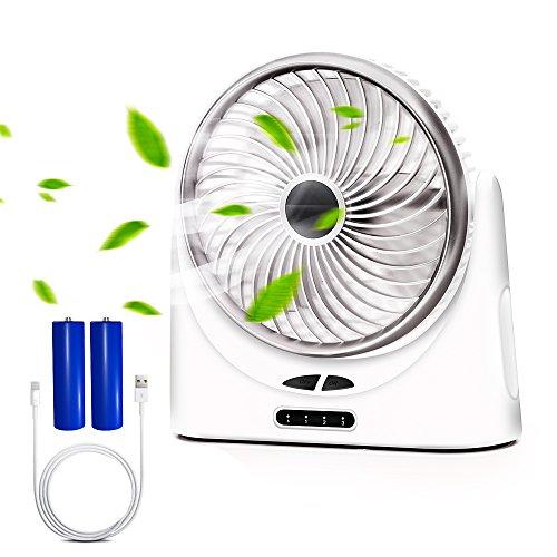 Verkstar USB扇風機 サーキュレーター 卓上扇風機...