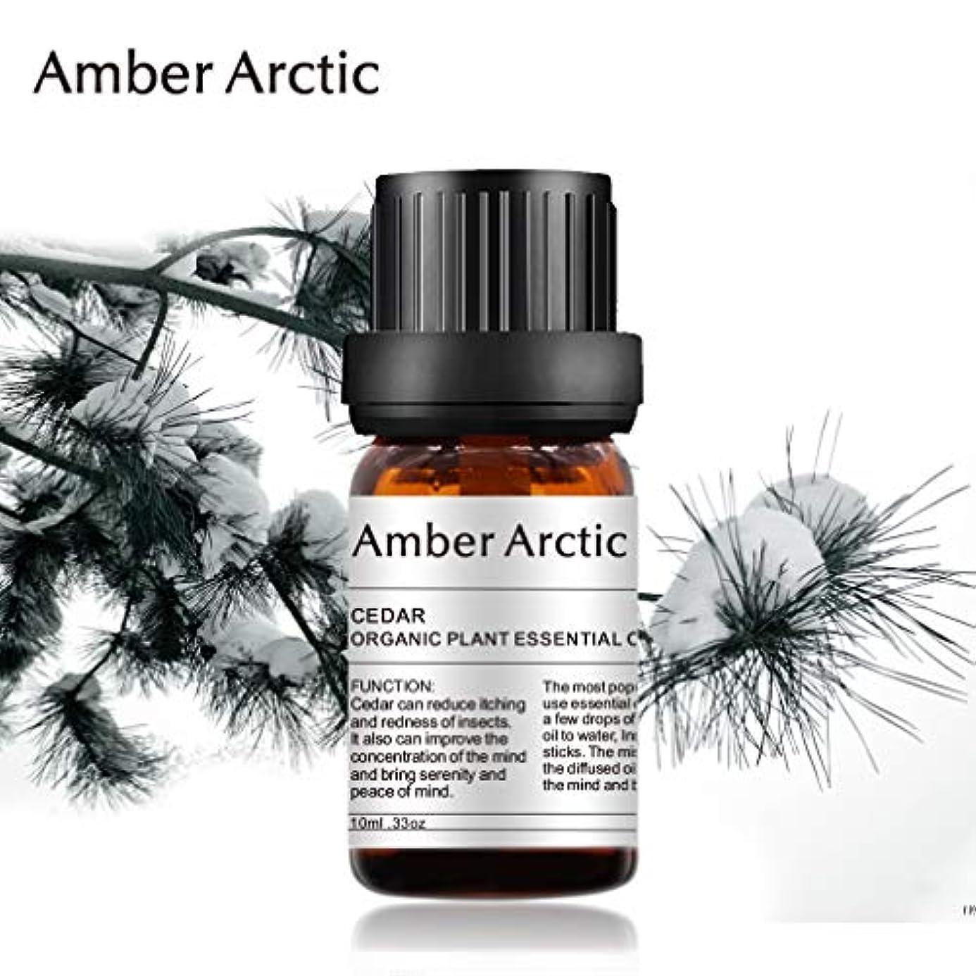 量で版哲学AMBER ARCTIC エッセンシャル オイル ディフューザー 用 100% ピュア フレッシュ 有機 植物 療法 オイル 0.33 オンス 10ML パイン