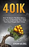 Best 401kの洋書 - 401K: How To Ensure The Best Return, Cut Review