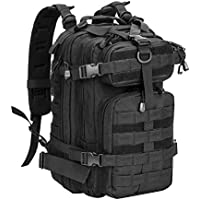 RXARMY Military Tactical Assault Backpack Hiking Bag Extreme Water Resistant Small Rucksack Molle Bug Out Bag for Traveling, Camping, Trekking & Hiking