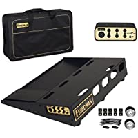Friedman Amplification Tour Pro 1520 Gold Pack 15 x 20 Pedal Board with Riser Professional Carrying Bag and Buffer Bay 6 [並行輸入品]