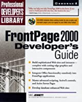 Frontpage 2000 Developer's Guide (Professional Developer's Library)