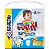 グーン パンツ M (7~12kg) 76枚 まっさらさら通気 【Amazon.co.jp限定】